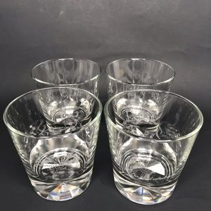 S/4 Jimmie Walker etched double old fashioned